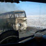 Сгоревший «Икарус» перевозил граждан Узбекистана в Самару