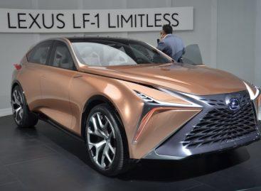 Флагманский кроссовер Lexus получит турбомотор мощнее 600 сил