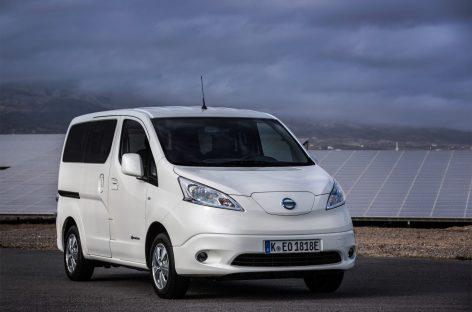 Обновленный фургон Nissan e-NV200