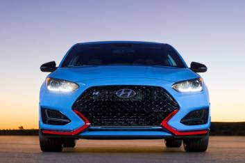 Новый Hyundai Veloster N представлен официально