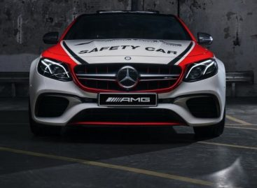 Mercedes-AMG E63 S 4MATIC+ стал pace car