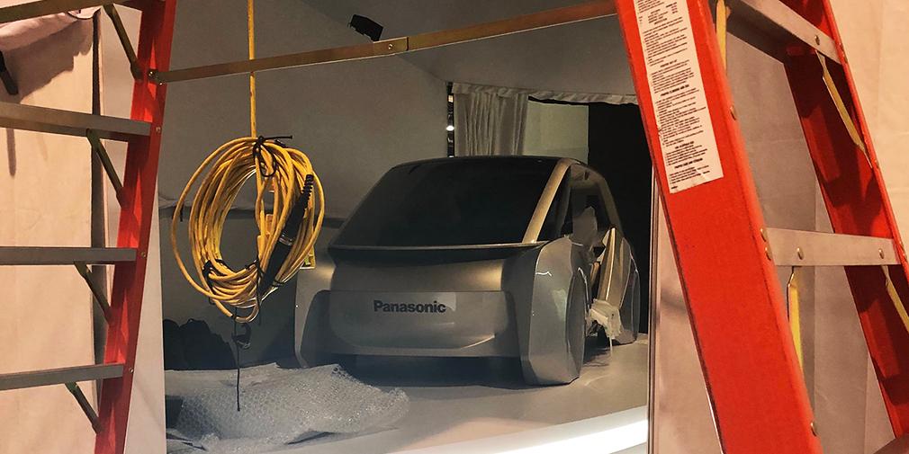 Появилась фотография беспилотного автомобиля Panasonic