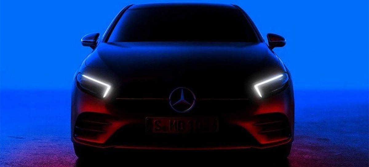 Mercedes рассказал о новом A-Class