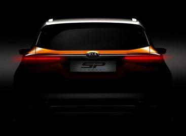 Kia SP Concept проходит дорожные испытания