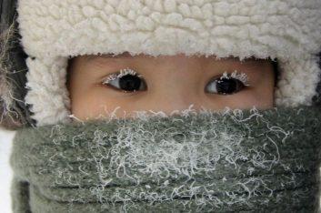 Морозы в -26 градусов идут на Москву