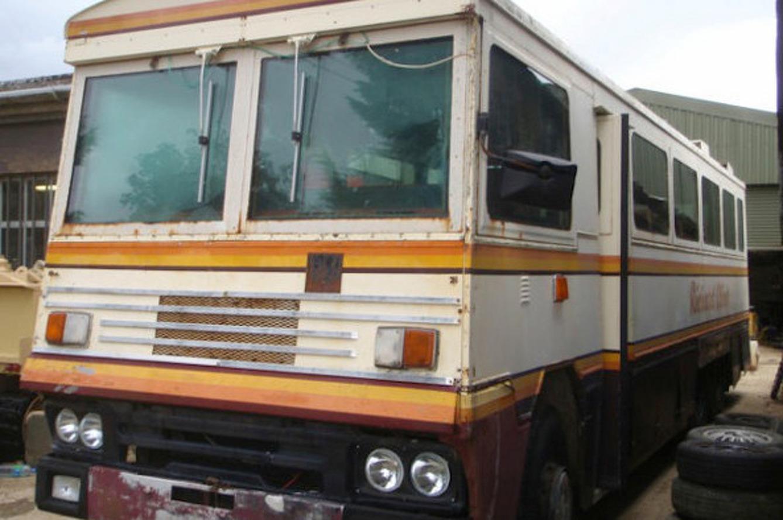 бронированный автобус Маргарет Тэтчер