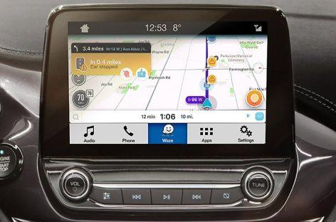 Waze – официальная навигация у Ford