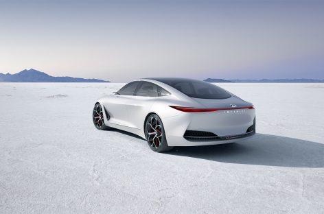 Будущий дизайн автомобилей концепта Q Inspiration от Infiniti