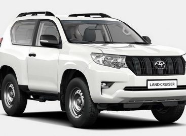 Toyota превратила Land Cruiser Prado в утилитарную модель