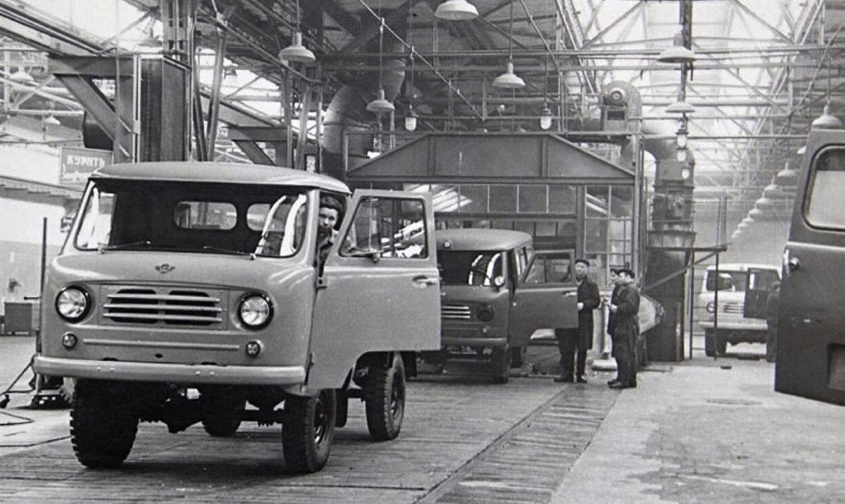Первые УАЗ-450