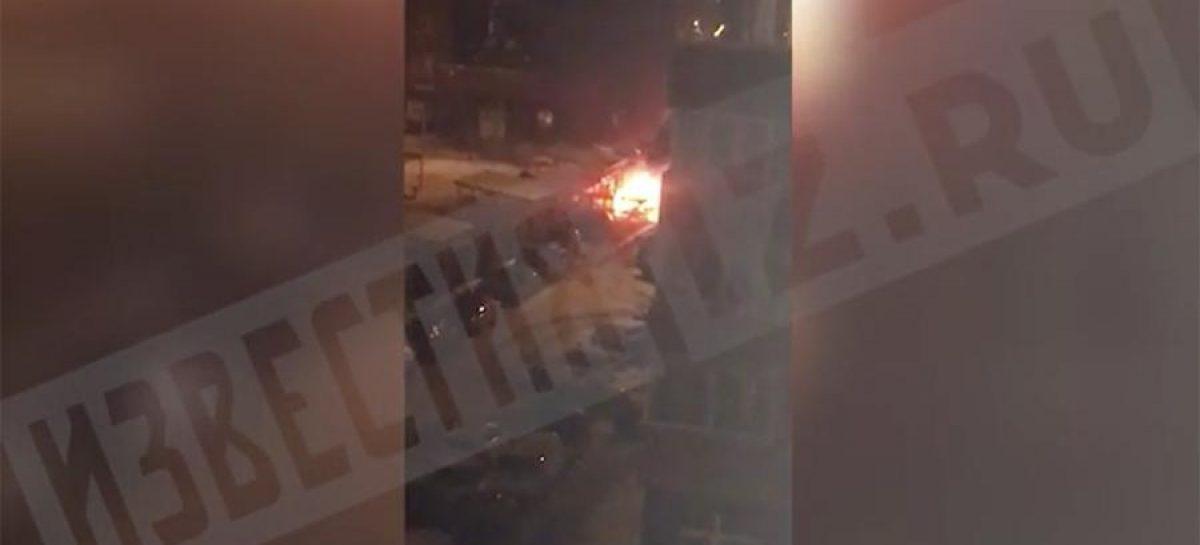 Сгорели 3 авто в Подмосковье