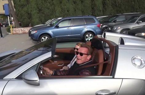 Bugatti Шварцнеггера за $2,5 млн