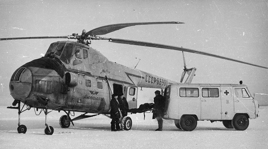 УАЗ-450 на Крайнем Севере