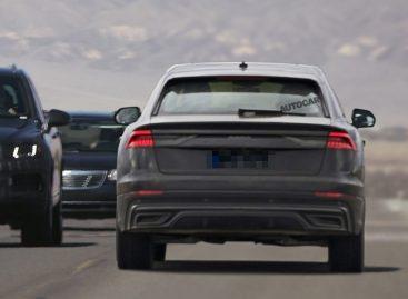 Новый Audi Q8 – почти без камуфляжа