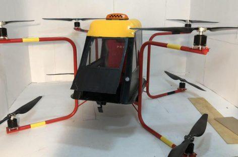 В Подмосковье создали беспилотное аэротакси