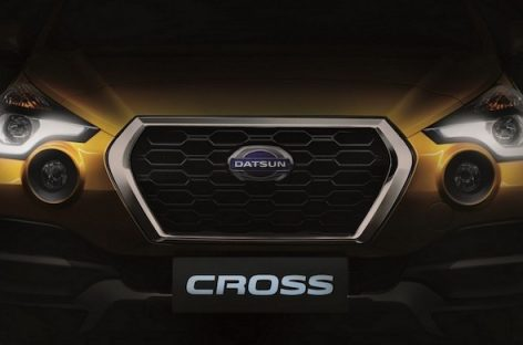 Первый Datsun Cross сошёл с конвейера