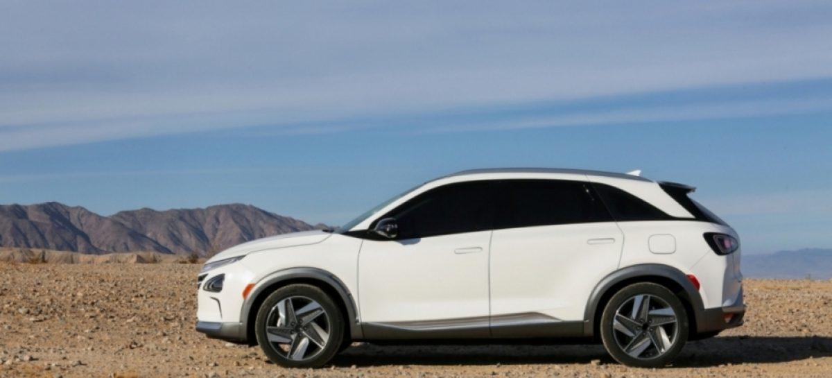 Новый водородный кроссовер Hyundai NEXO стал лучшим