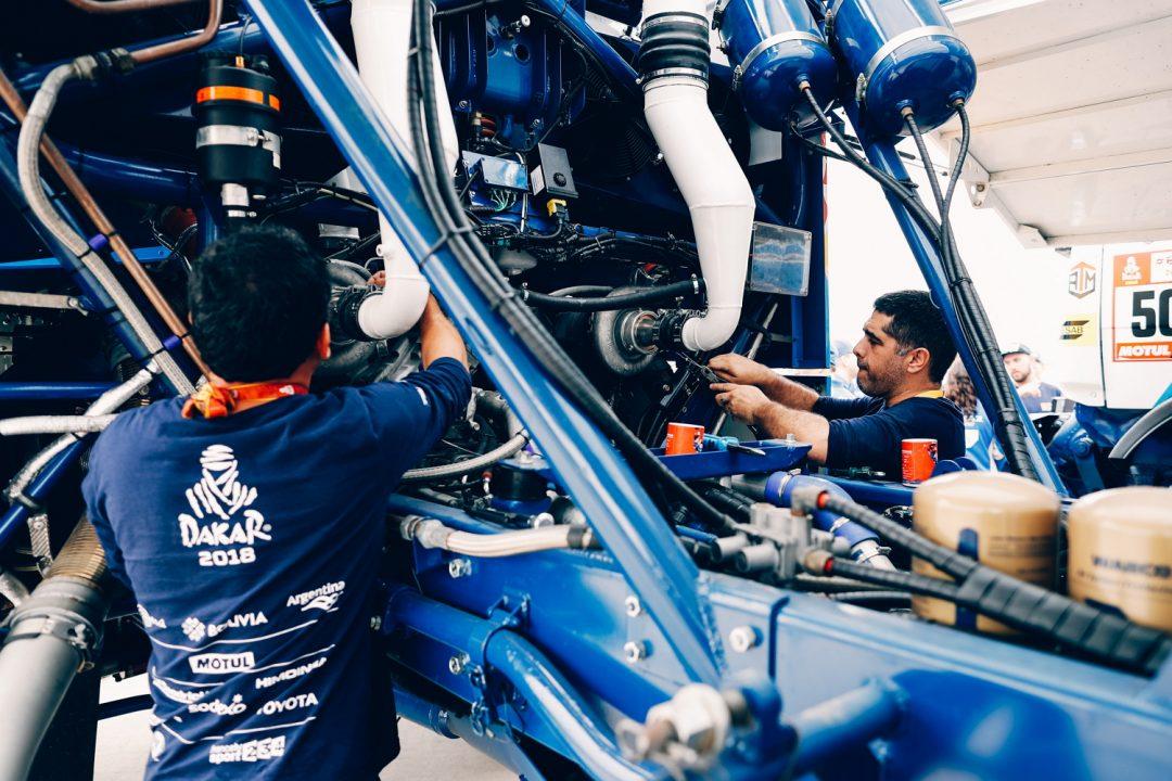Техническое обслуживание машин команды