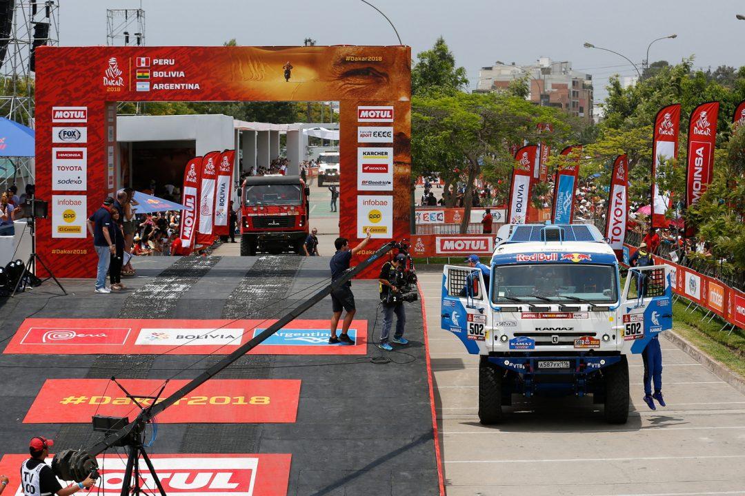 Старт «Дакар-2018» в Перу