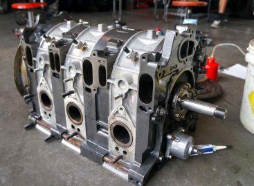 Сборка роторного 700-сильного двигателя