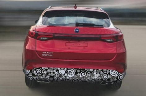 Китайская Zotye – теперь копия Mazda CX-4