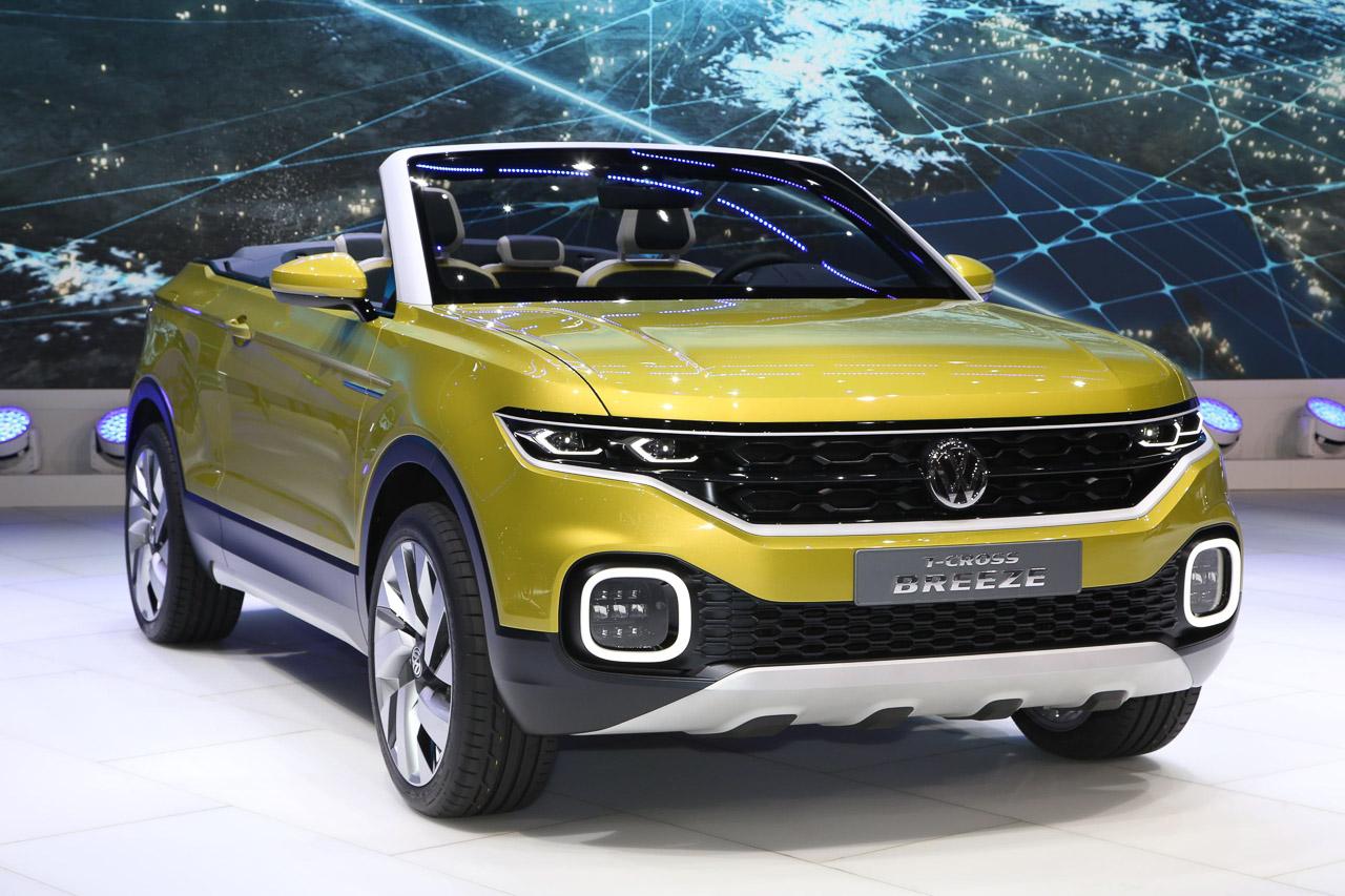 Volkswagen выпустит новый кроссовер