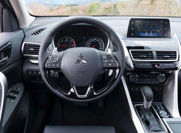 В марте выйдет новый Mitsubishi Eclipse Cross