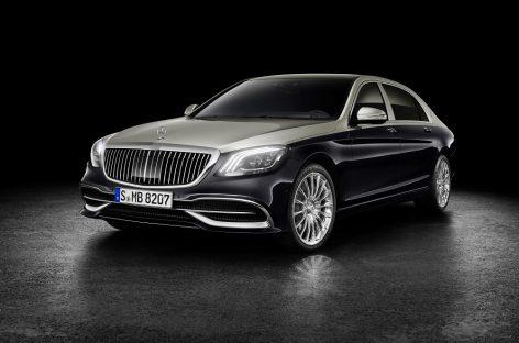 Mercedes-Maybach S-Класс в новом облике
