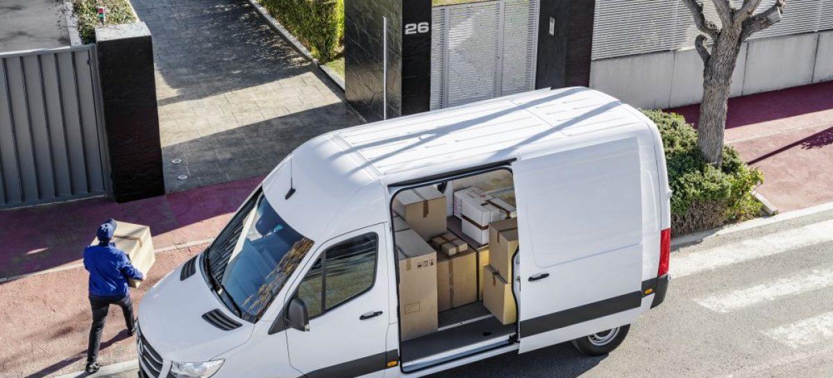 Mercedes-Benz Sprinter способен на многое