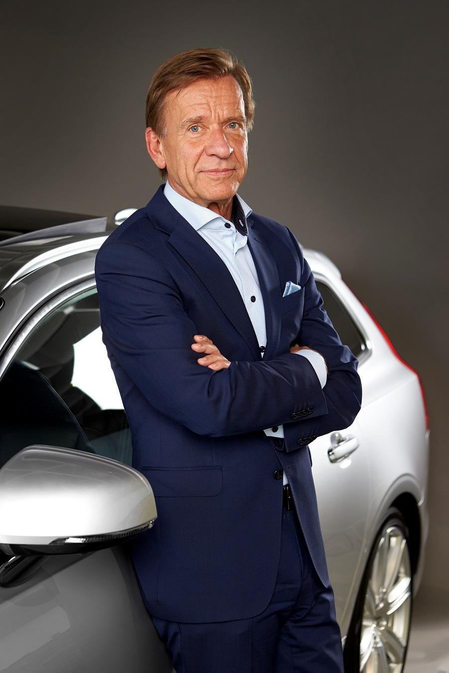 президент Volvo Car Хокан Самуэльссон