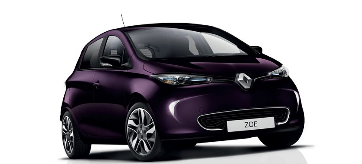 Новый двигатель Renault Zoe