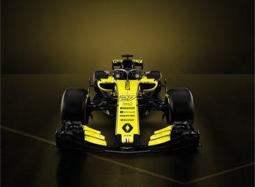 Renault представила новый болид R.S.18
