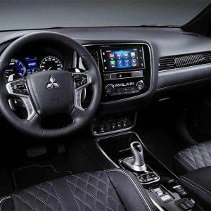 Mitsubishi обновила гибридный кроссовер Outlander