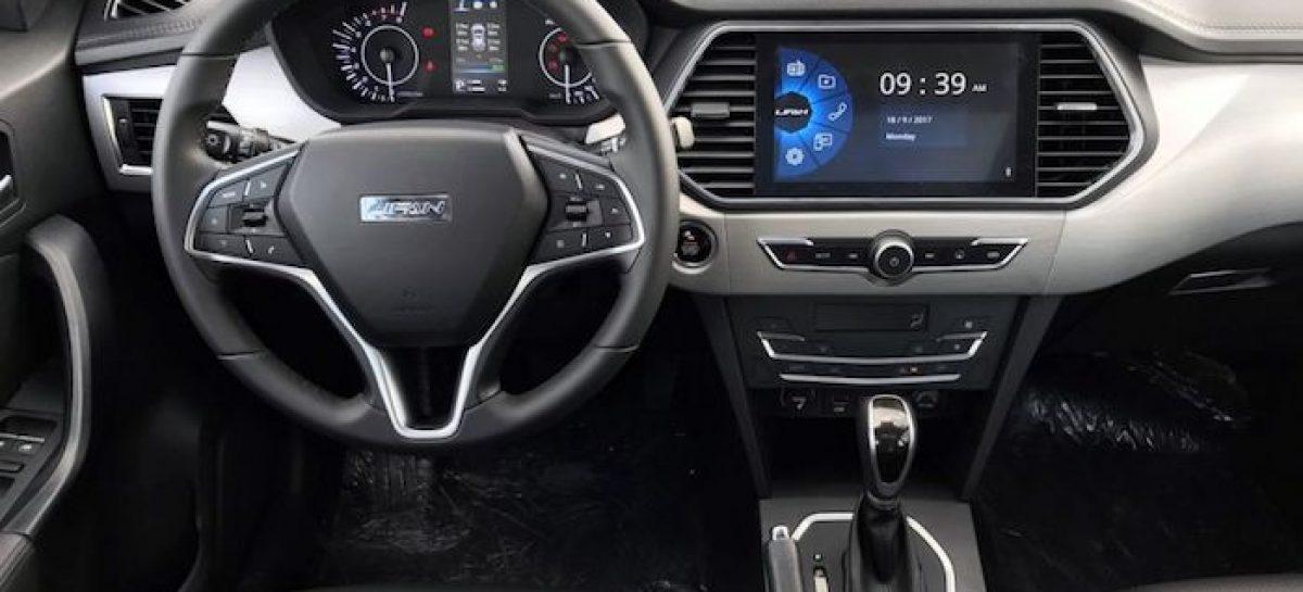 Старт продаж Lifan X70 не за горами
