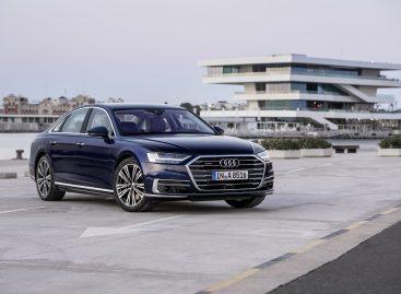 Начался приём заказов на новый Audi A8
