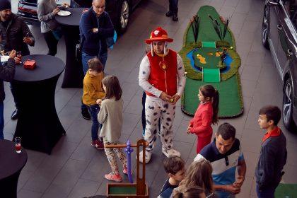 Семейный праздник, масленица и детский турнил по мини гольфу в Ауди Центр Таганка от АвтоСпецЦентра