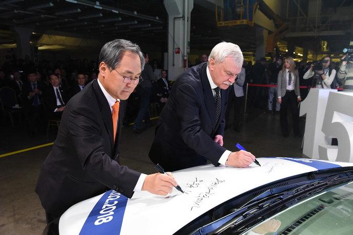 Hyundai Solaris 1500000-й автомобиль