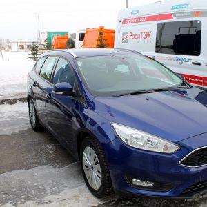 Первые битопливные Ford Focus CNG