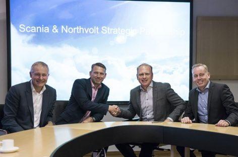 Scania и Northvolt запускают совместный проект