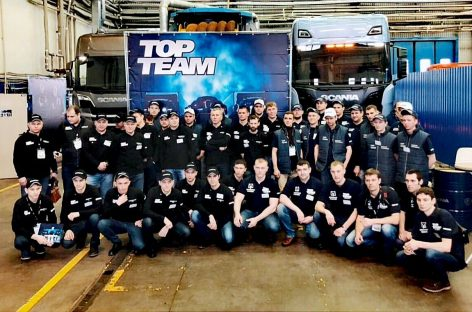 Финал Scania Top Team в России