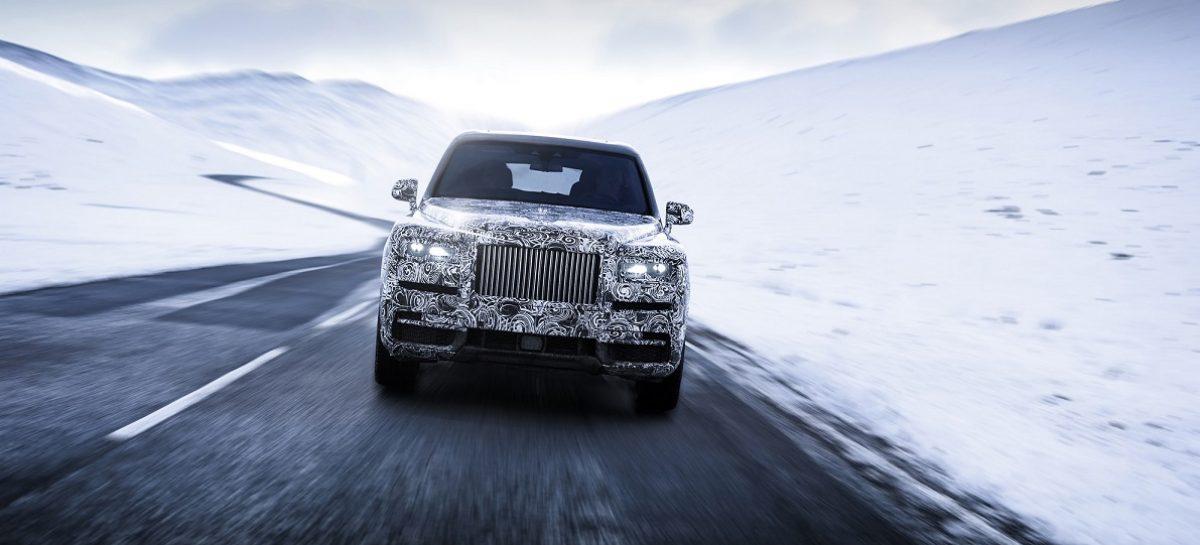 Cullinan – полноприводная модель Rolls-Royce