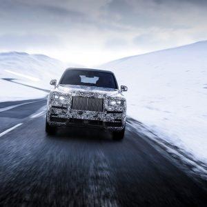 Cullinan - полноприводная модель Rolls-Royce