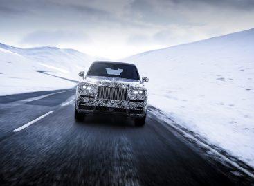 Cullinan — полноприводная модель Rolls-Royce