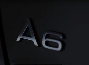 Новую Audi A6 показали на официальном видео