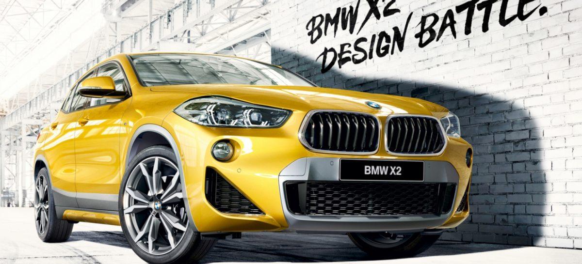 BMW X2 Design Battle