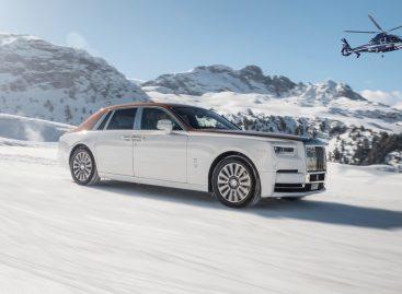 По альпийским курортам на новинках от Rolls-Royce