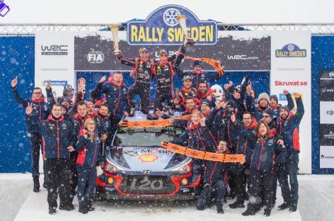Ралли Швеции — отчет о третьем дне