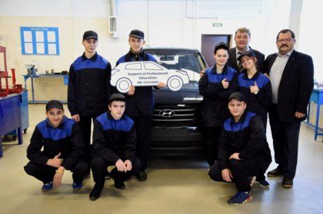 Hyundai Creta – в руки учеников
