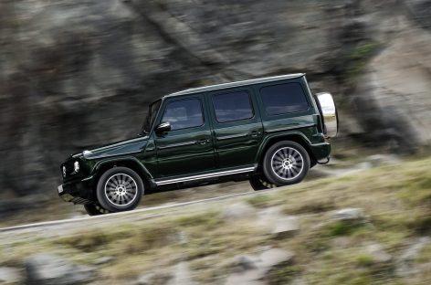 Известна стоимость нового Meredes-Benz G-Class