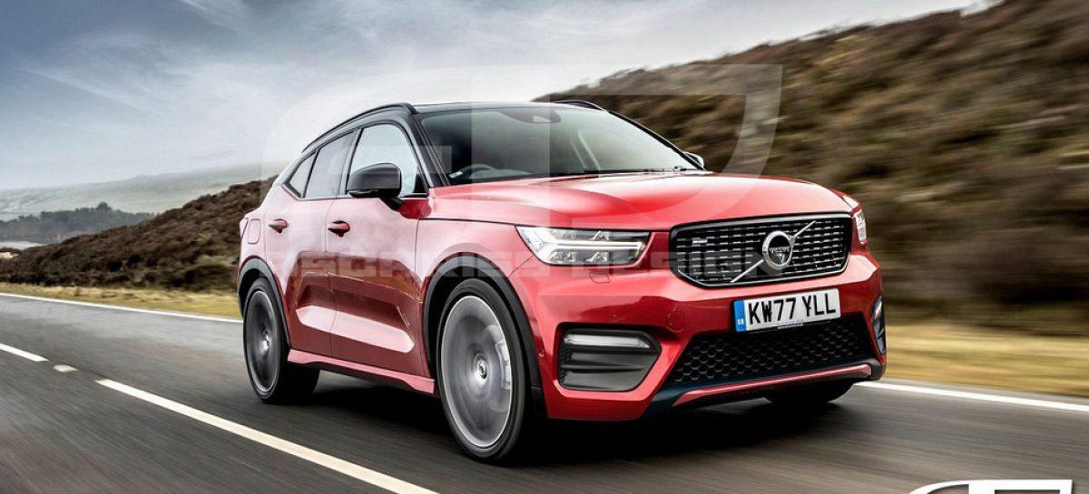 Volvo готовит новое кросс-купе XC50